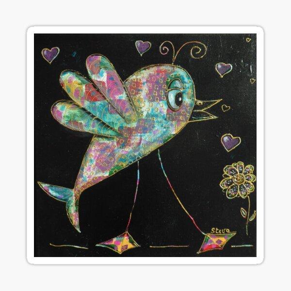 Le Poissonneau amoureux  Sticker