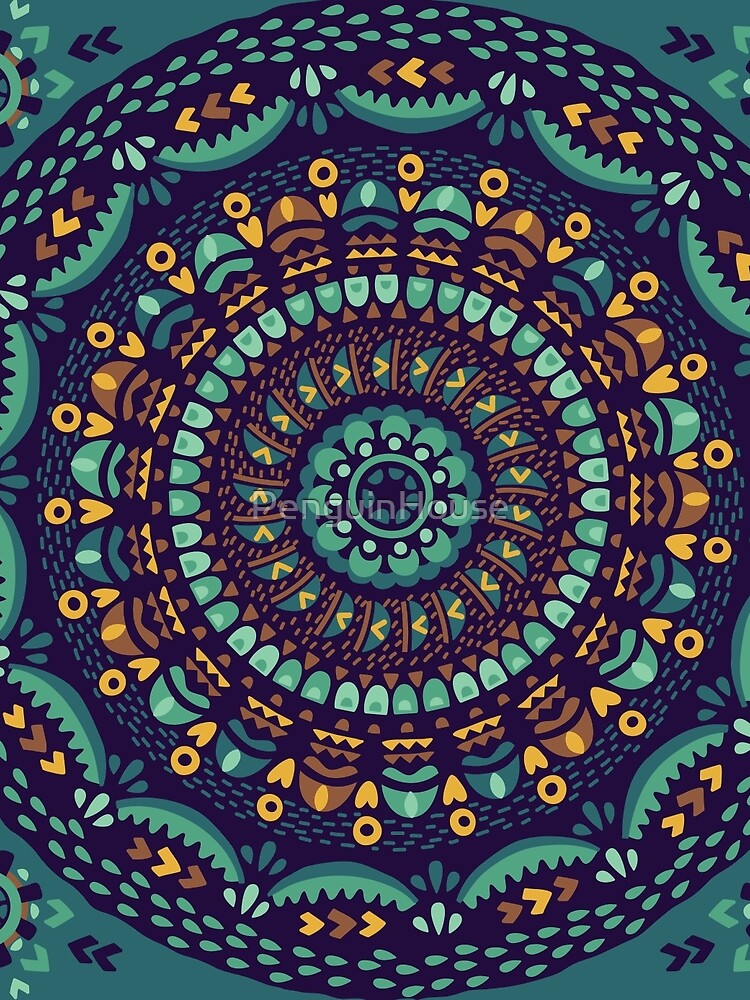 Ethnic mandala by PenguinHouse