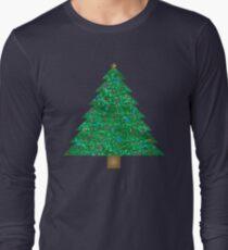 sequin christmas tree Long Sleeve T-Shirt
