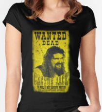 Cactus Jack Poster Women's Fitted Scoop T-Shirt