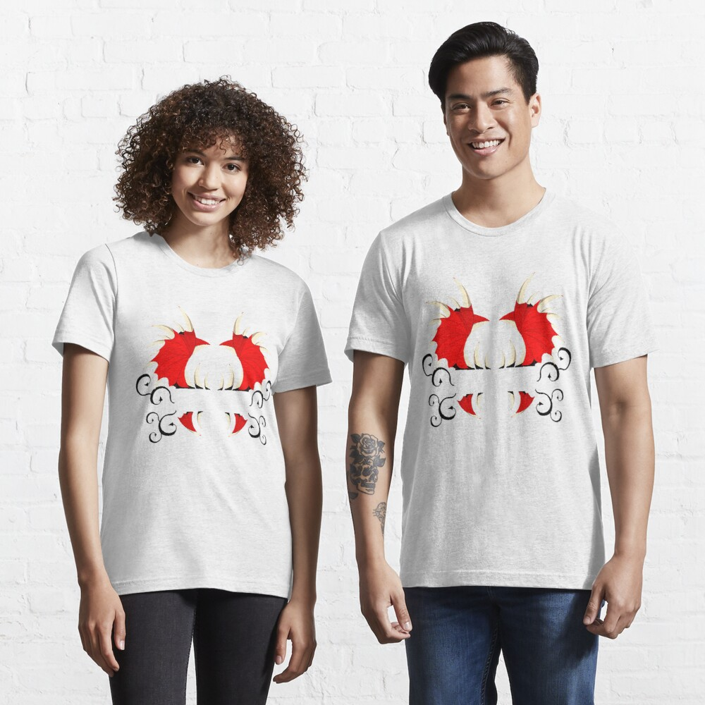 T-shirt essentiel «Aile de démon»