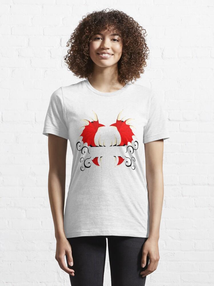 T-shirt essentiel ''Aile de démon': autre vue