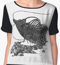 Spiky, spiky trilobite(y) Chiffon Top