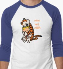 Calvin and Hobbes Comic Men's Baseball ¾ T-Shirt