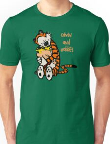 Calvin and Hobbes Comic Unisex T-Shirt