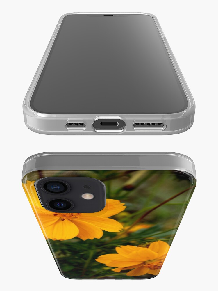 Alternate view of Golden Coreopsis iPhone Case & Cover
