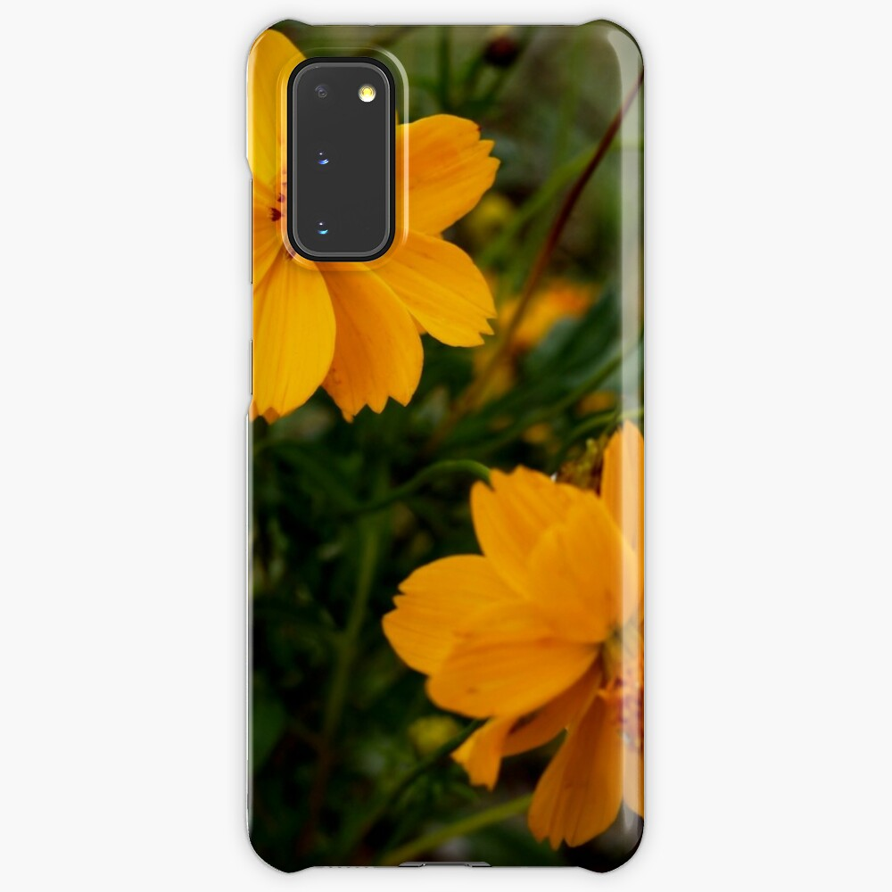 Golden Coreopsis Case & Skin for Samsung Galaxy