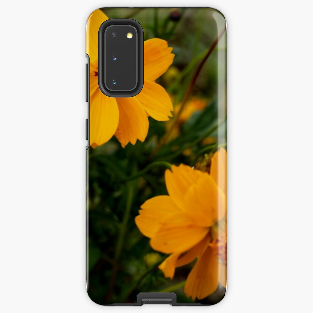 Golden Coreopsis from A Gardener's Notebook Case & Skin for Samsung Galaxy