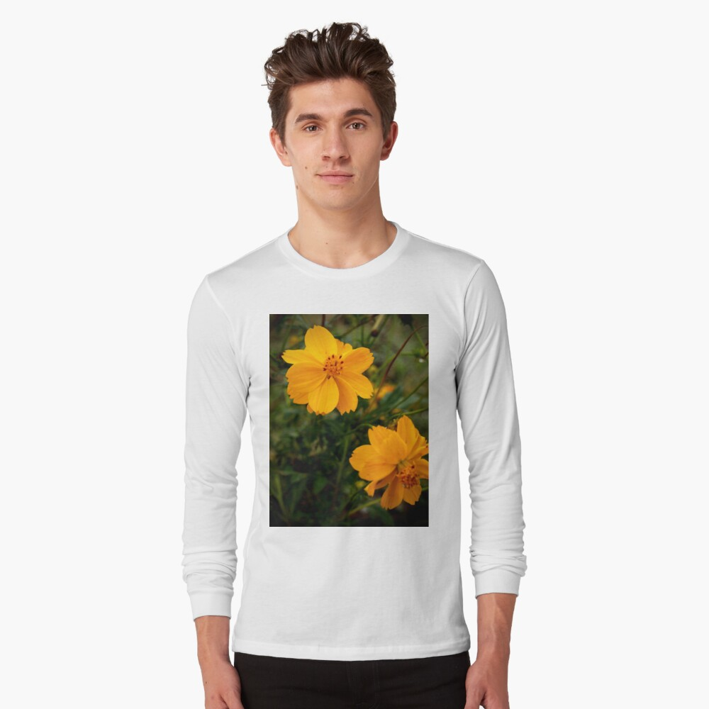 Golden Coreopsis Long Sleeve T-Shirt