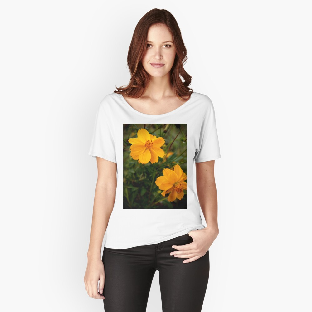 Golden Coreopsis Relaxed Fit T-Shirt
