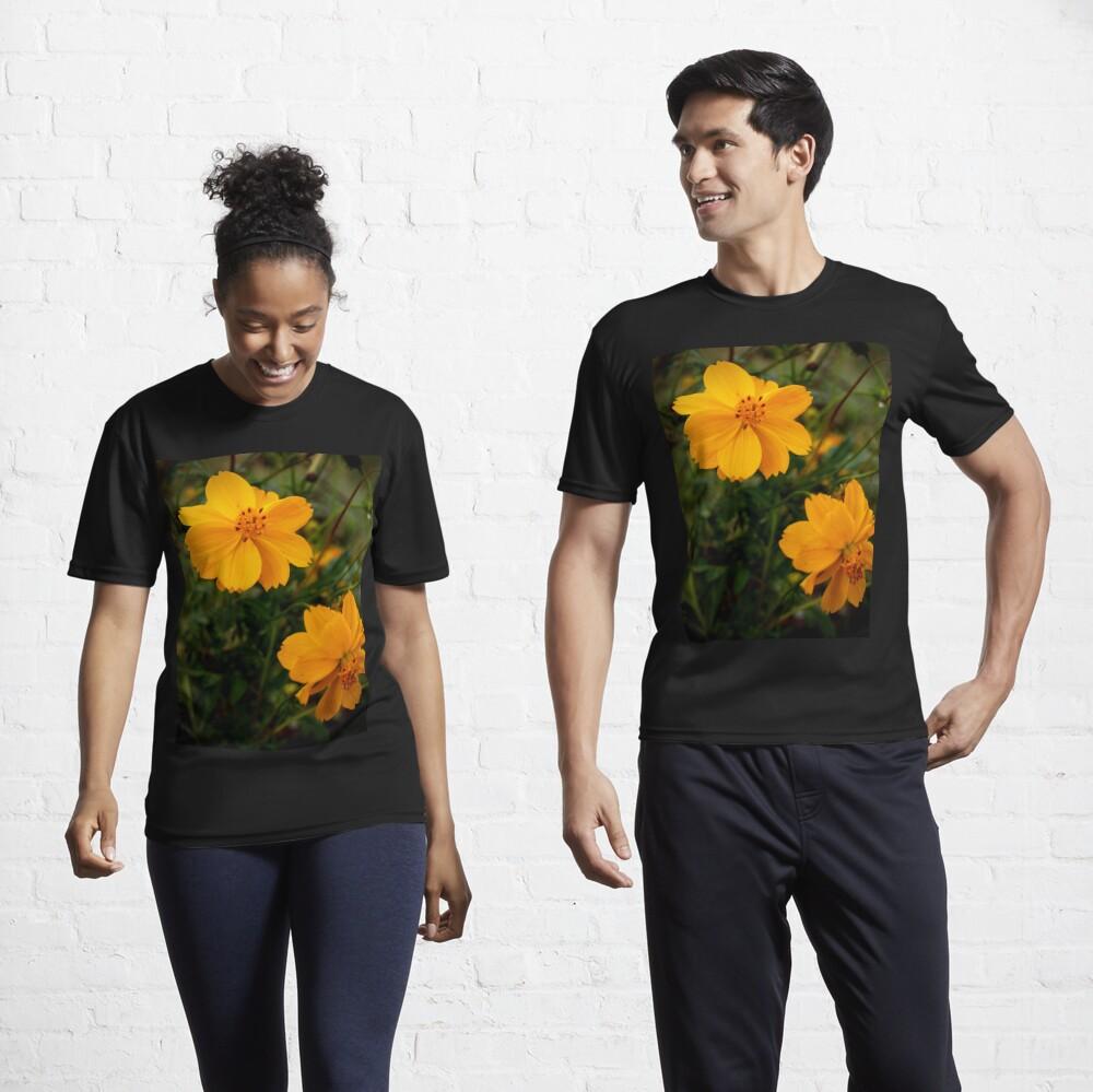 Golden Coreopsis Active T-Shirt