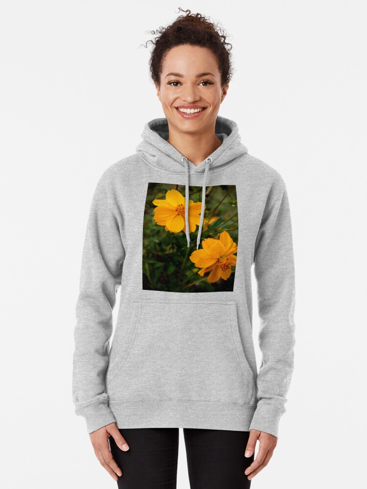 Alternate view of Golden Coreopsis Pullover Hoodie