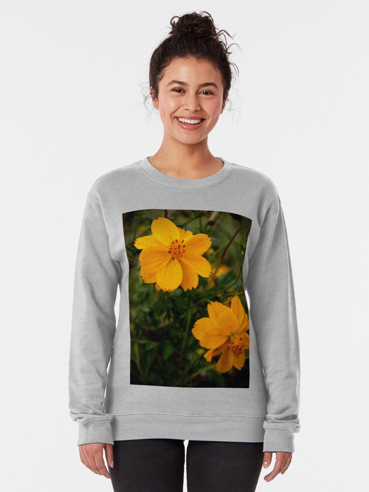 Alternate view of Golden Coreopsis Pullover Sweatshirt