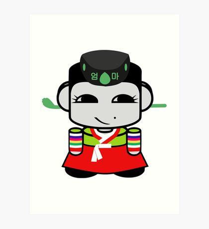 Umma Korean Geo'bot 1.0 Art Print