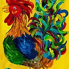 Plucky Rooster by EloiseArt