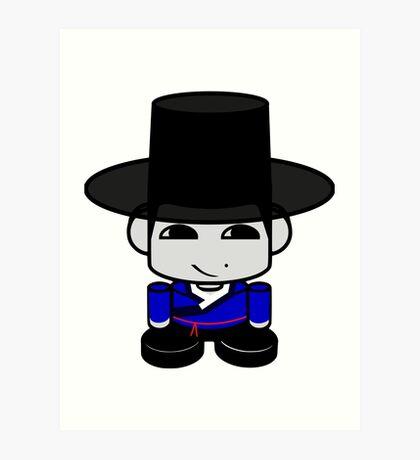 Appa Korean Geo'bot 1.0 Art Print
