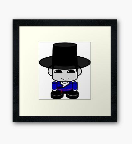 Appa Korean Geo'bot 1.0 Framed Print