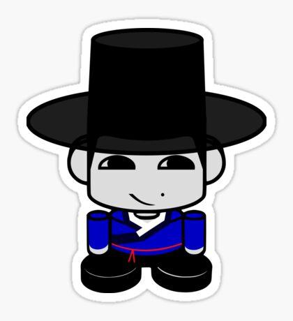 Appa Korean Geo'bot 1.0 Sticker
