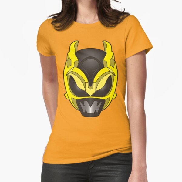 Psycho Yellow Ranger Fitted T-Shirt