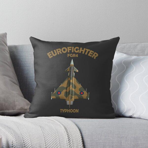 Eurofighter Typhoon Throw Pillow