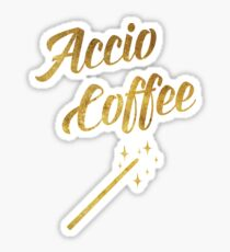 Accio Coffee Sticker