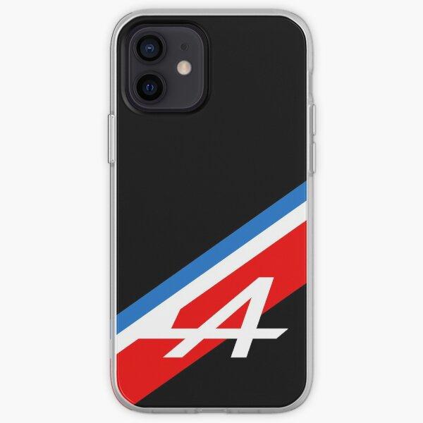 Alpine Tricolore (Noir) - F1 2021 Coque souple iPhone