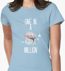 """""""one in a million"""" tcw Women's Fitted T-Shirt"""