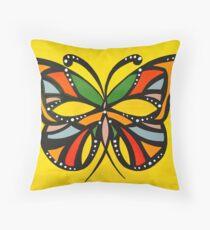 Autum Butterflies Throw Pillow
