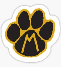 MIZ Pawprint  Sticker