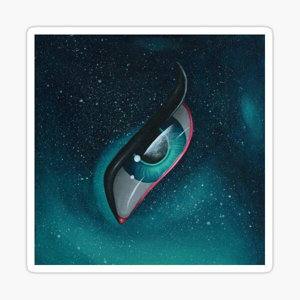 Galaxy Eye Sticker