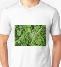 Green grass pattern with soap bubble. T-Shirt