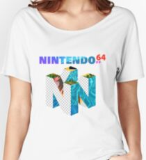 Vaporwave Nintendo 64 Women's Relaxed Fit T-Shirt
