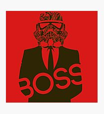 BOSS MUST HAVE Photographic Print