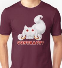 Kyubey - Contract? T-Shirt