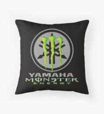 racing yamaha Throw Pillow
