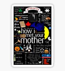 how I met your mother Sticker