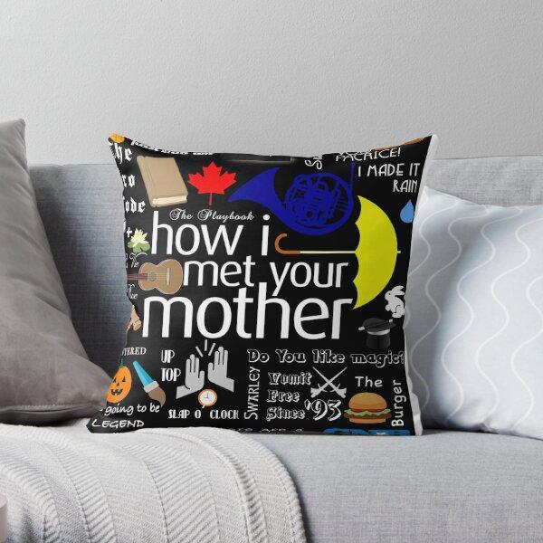 how I met your mother Throw Pillow