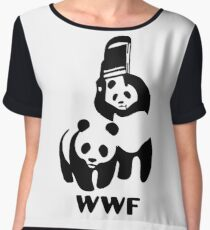Panda Wrestling - ONE:Print Women's Chiffon Top