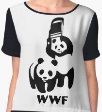 Panda Wrestling - ONE:Print Women's Chiffon Top