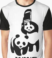 Panda Wrestling - ONE:Print Graphic T-Shirt
