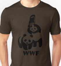 Panda Wrestling - ONE:Print Unisex T-Shirt