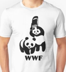 Panda Wrestling - ONE:Print T-Shirt