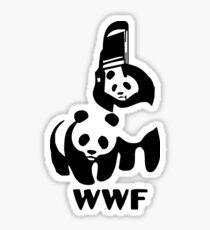 Panda Wrestling - ONE:Print Sticker
