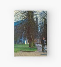 Winchester in Mid-Winter Hardcover Journal