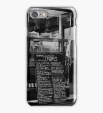 Tapas iPhone Case/Skin