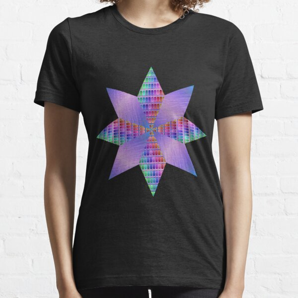 Ornamental pattern with purple color Essential T-Shirt