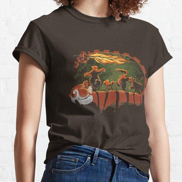 Jungle road Classic T-Shirt