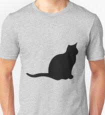 Cat Silhouette Unisex T-Shirt