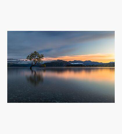 Sunrise in Wanaka Photographic Print