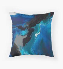 Deep blue Sea Sea Sea Throw Pillow